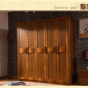 高端实木家具全实木衣柜
