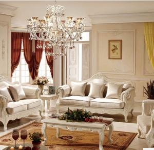 新款布艺沙发 欧式客厅高档沙发